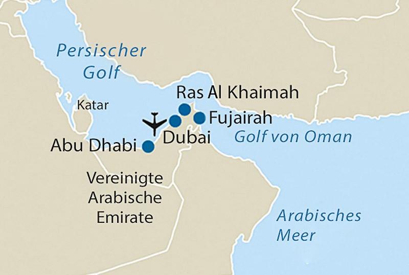 Ras Al Khaimah Dubai 8 Tage Rsd Reisen De